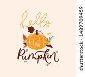 Hello Pumpkin Colorful...