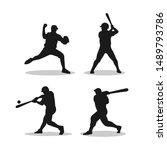 Baseball Player Poses...