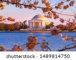 The Jefferson Memorial In...