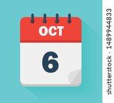 October 6th. Daily Calendar...