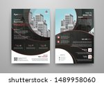 business abstract vector... | Shutterstock .eps vector #1489958060