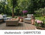 Elegant Garden Furniture On...