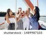 Four Beautiful Women Friends...