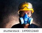 Gas Mask. Respirator Cartridge. ...