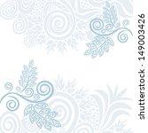 wedding invitation card vector... | Shutterstock . vector #149003426