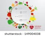 modern business bubble speech... | Shutterstock .eps vector #149004038