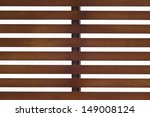 Wooden Slat Roof.