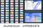 vector fashionable tri wrinkle... | Shutterstock .eps vector #1490081876