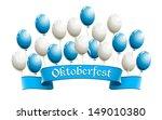 oktoberfest banner with... | Shutterstock . vector #149010380