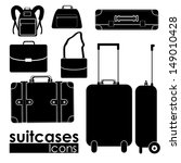 accessory,arrival,backpack,bag,baggage,briefcase,cargo,carrier,collection,design,element,equipment,figure,graphic,handbag