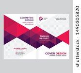 cover design for presentations... | Shutterstock .eps vector #1490305820