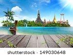 concept travel tropical beach ... | Shutterstock . vector #149030648