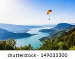 view of the annecy lake from ... | Shutterstock . vector #149033300