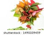 Autumn Bouquet Of Fallen Leaves....