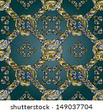seamless pattern. Abstract hand drawned seamless texture, EPS 8 format