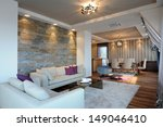 living room interior | Shutterstock . vector #149046410