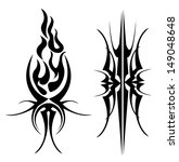 tribal tattoo  | Shutterstock .eps vector #149048648