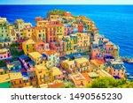 Colorful Houses Of Manarola  A...