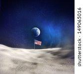 An American Flag On The Moon...