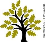 decorative simple tree   Shutterstock .eps vector #149066180