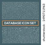 database and network vector... | Shutterstock .eps vector #1490711963