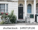 White Terraced House With Lowe...