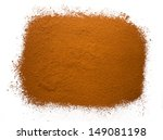 heap from powder cocoa on a... | Shutterstock . vector #149081198