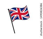 simple flag united kingdom icon ...