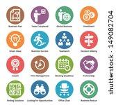 business icons set 3   dot... | Shutterstock .eps vector #149082704