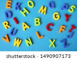 Multicolored Letters Of The...