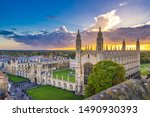 Cambridge City In England At...