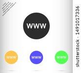 internet icon vector eps 10  ...