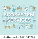 ecosystem services word...