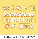zoological park word concepts...