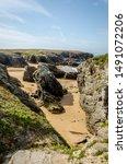 Small photo of Quiberon The Savage Coast Brittany France
