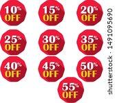 Set Of Discounts  Ten To Fifty...