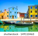 venice landmark  burano island... | Shutterstock . vector #149110463