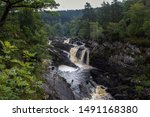 View Of Rogie Waterfall In...