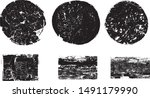 grunge post stamps collection ... | Shutterstock .eps vector #1491179990