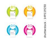 modern design template   can be ... | Shutterstock .eps vector #149119250