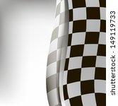 vector checkered background.... | Shutterstock .eps vector #149119733