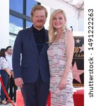 Small photo of LOS ANGELES - AUG 29: Jesse Plemons and Kirsten Dunst arrives for the Kirsten Dunst Walk of Fame Ceremony on August 29, 2019 in Hollywood, CA