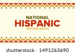 national hispanic heritage... | Shutterstock .eps vector #1491263690