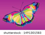abstract background with...   Shutterstock .eps vector #1491301583