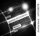 human resources. background... | Shutterstock .eps vector #149138378