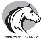 Stock vector wild horse 149139359