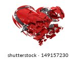 broken heart | Shutterstock . vector #149157230