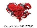 broken heart | Shutterstock . vector #149157230