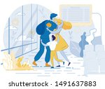 military man  serviceman or... | Shutterstock .eps vector #1491637883