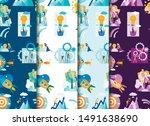 set pattern strategy... | Shutterstock .eps vector #1491638690